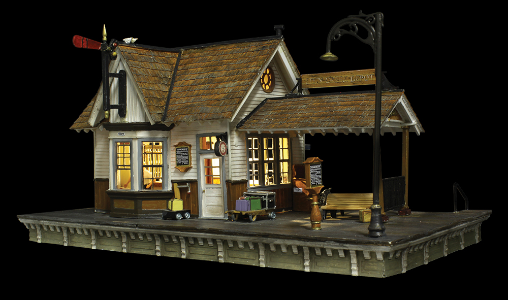 The Depot Ho Scale Woodland Scenics
