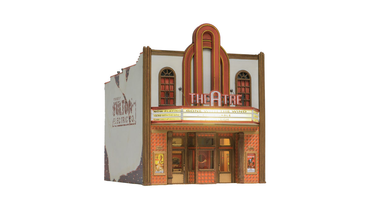 WOOBR5054 Woodland Scenics Co HO Built-Up Theater