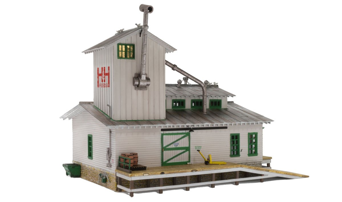 H&H Feed Mill - HO Scale
