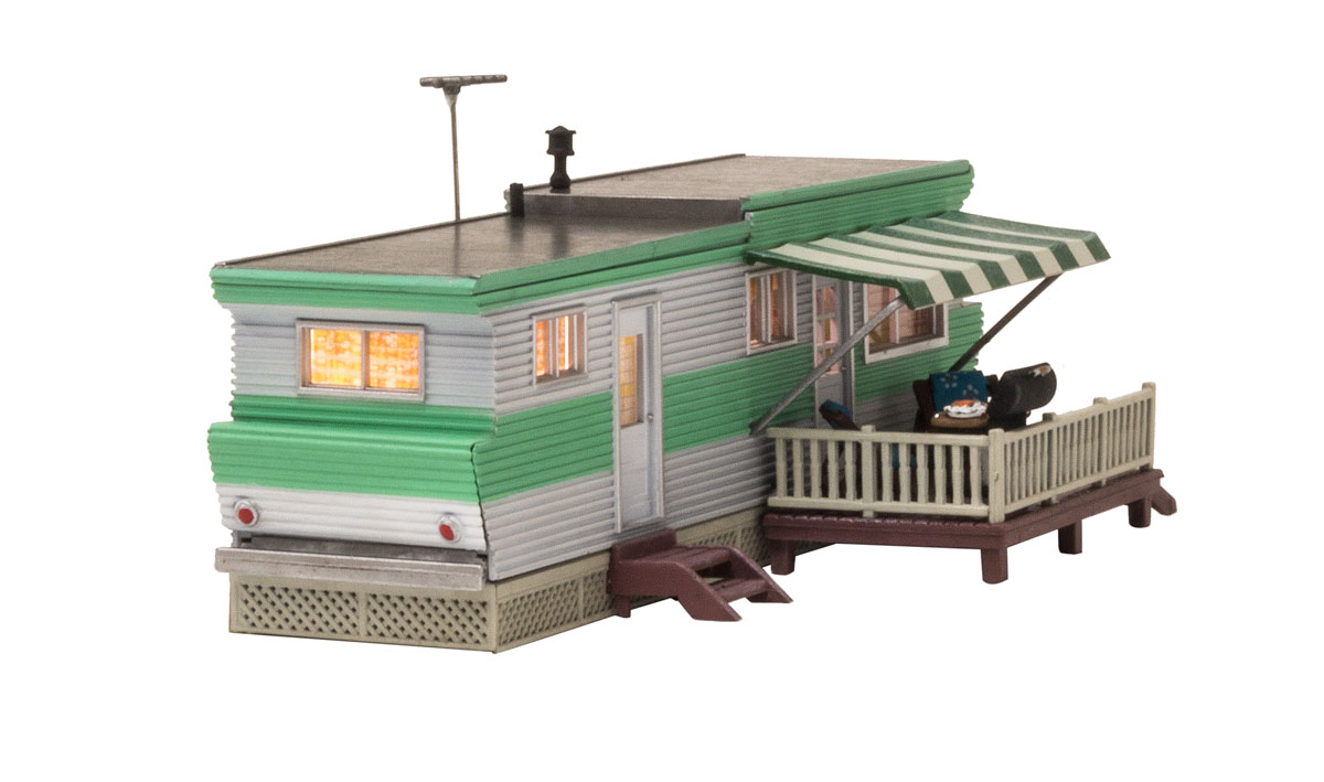 Grillin' & Chillin' Trailer - HO Scale