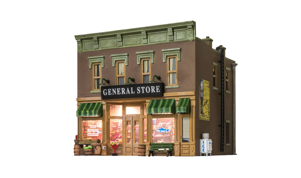 Lubener S General Store O Scale O Scale Woodland