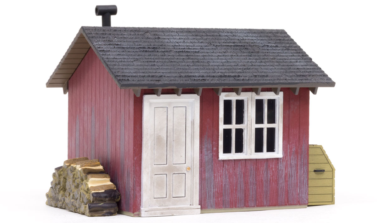 Woodland BR5857 O Built-Up Work Shed