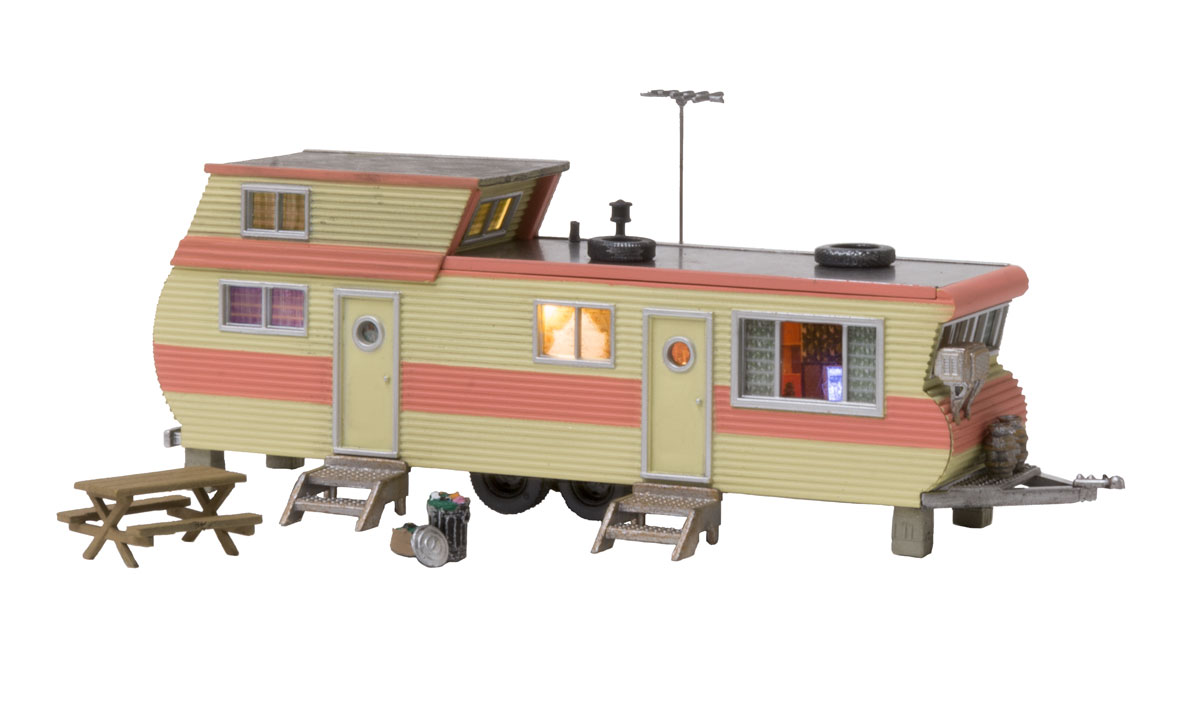 Woodland BR5862 O Built-Up Double Decker Trailer