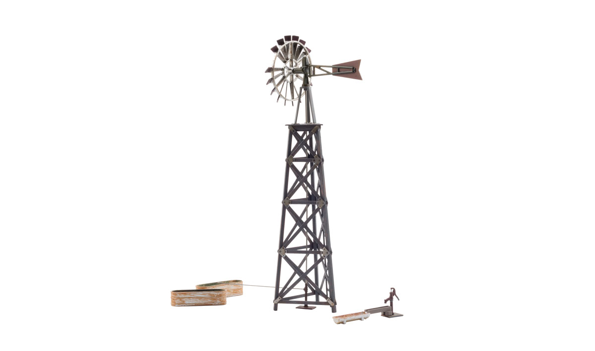 Old Windmill - O Scale