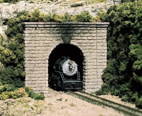 BNIB Woodland Scenics O Gauge Single Portal Tunnel Choose Concrete Or Stone