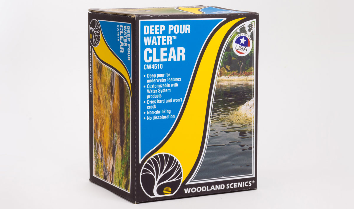 Woodland Scenics WOOCW4510 Deep Pour Water Clear
