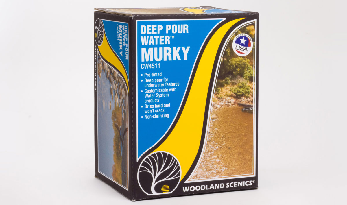 Deep Pour Water™ - Murky - Woodland Scenics
