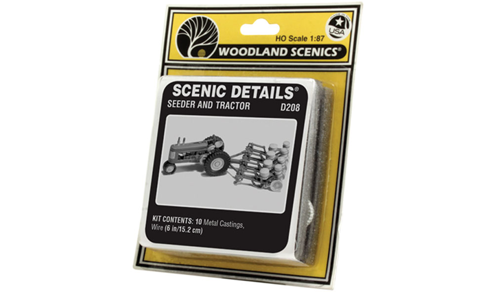 Seeder & Tractor (1938-1946) HO Scale Kit