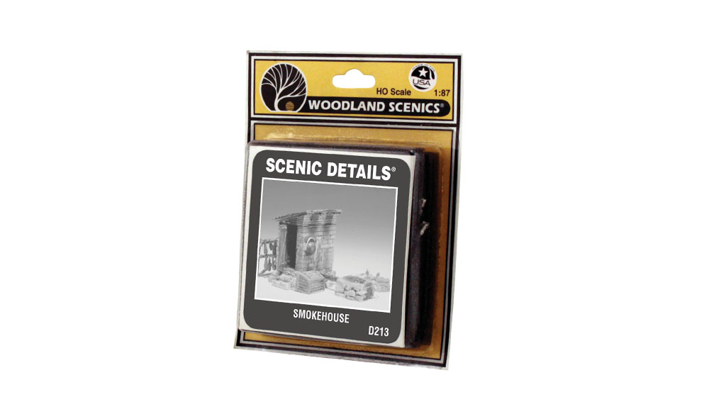 Smokehouse HO Scale Kit