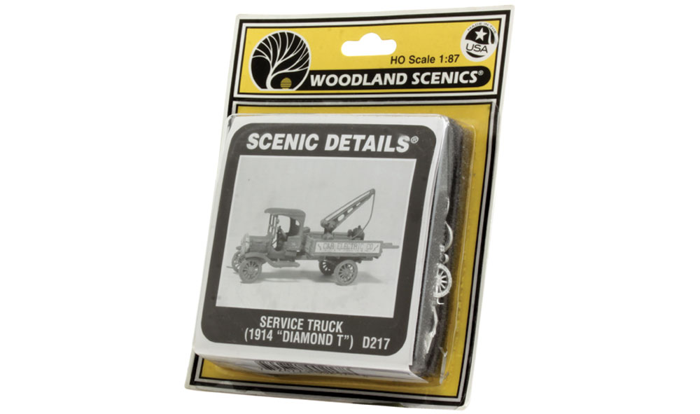 Service Truck (1914 Diamond T) HO Scale Kit