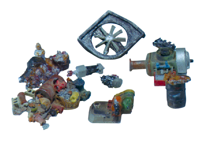 Industrial Junk HO Scale Kit