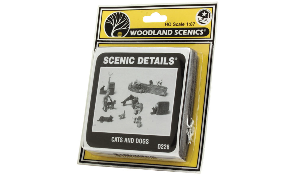 Cats and Dogs HO Scale Kit