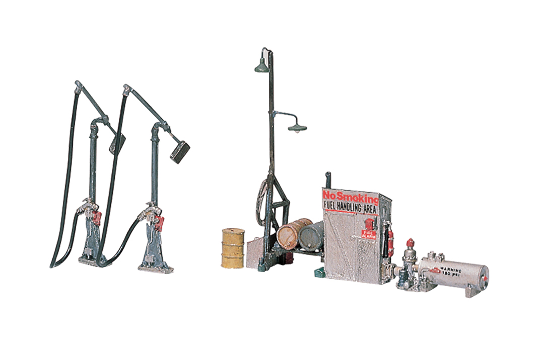 Diesel Fuel Facility HO Scale Kit - Woodland Scenics