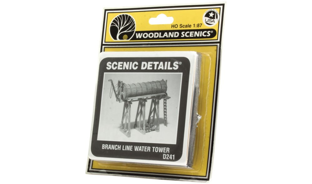 Branch Line Water Tower HO Scale Kit