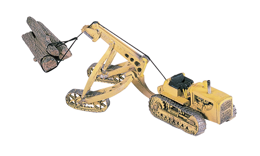 Hyster Logging Cruiser and Tractor HO Scale Kit