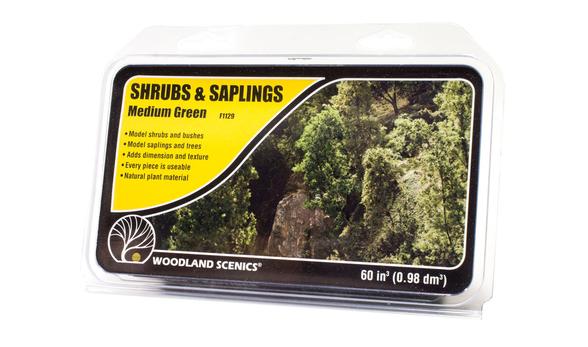 Shrubs & Saplings Medium Green