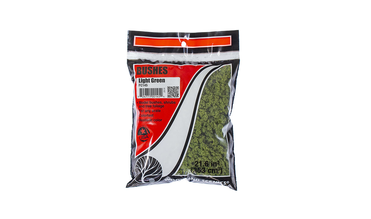 Bushes Light Green Bag