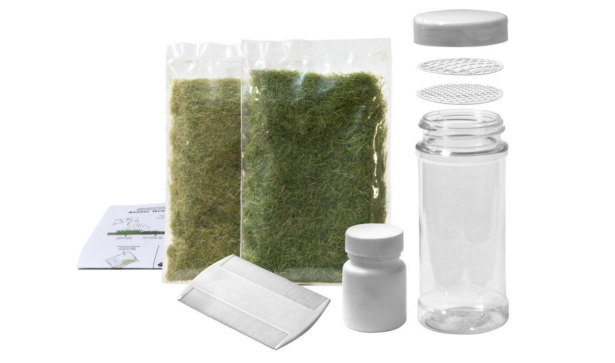 Woodland Scenics WFS647 Landschaftsbau Static Grass Starter Kit