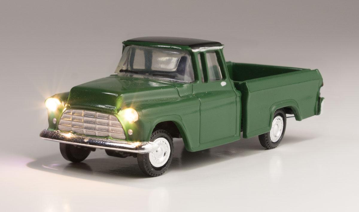 WOOJP5590 Woodland Scenics Co HO Just Plug Green Pickup