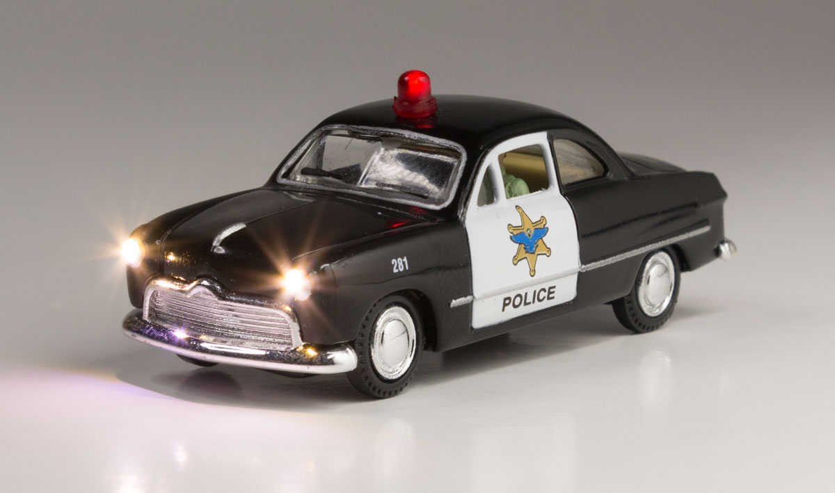 Police Car - HO Scale
