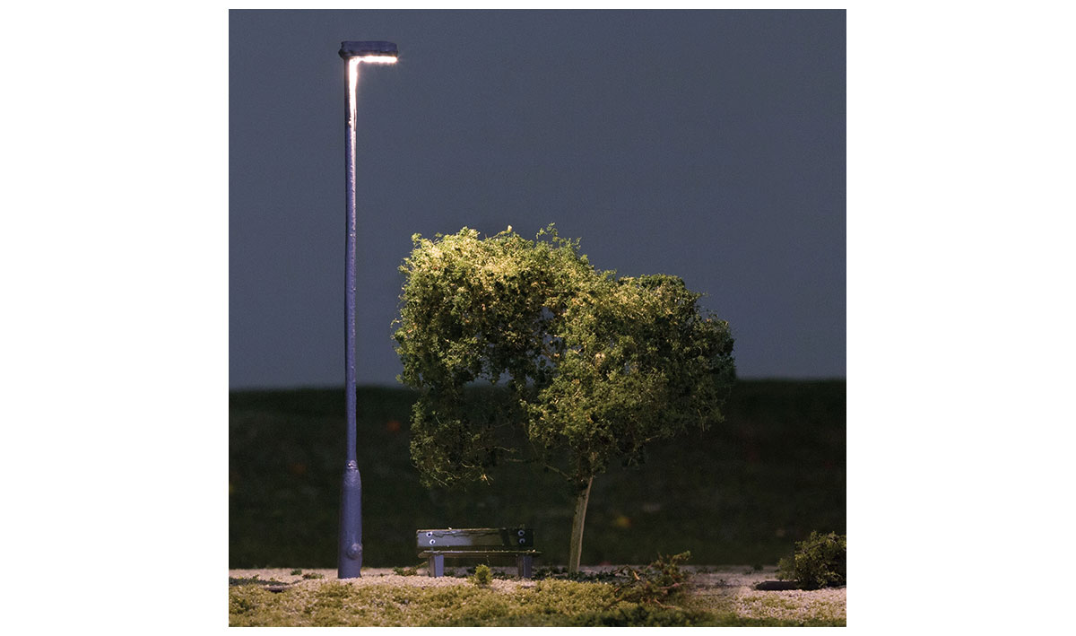 Metal Lamp Oo Ho Scale Woodland Scenics