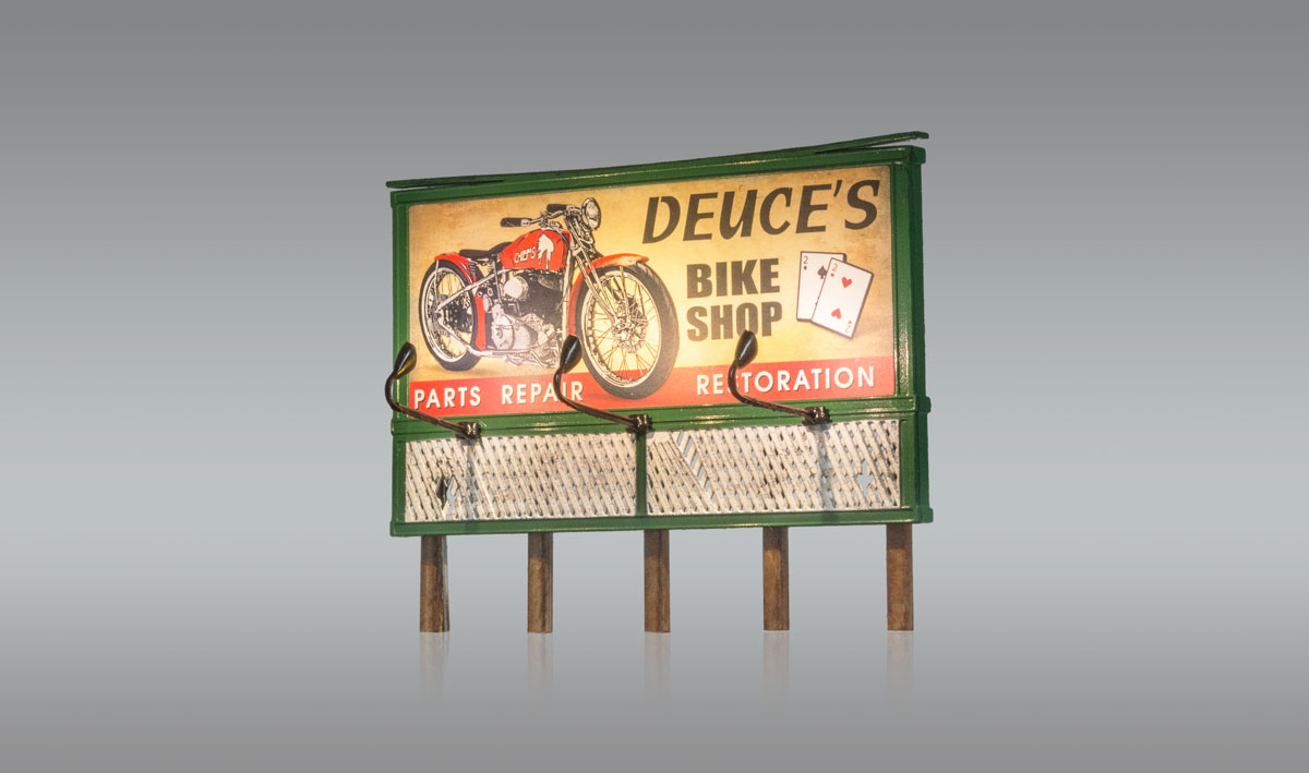 Deuce's Parts & Repair - HO Scale