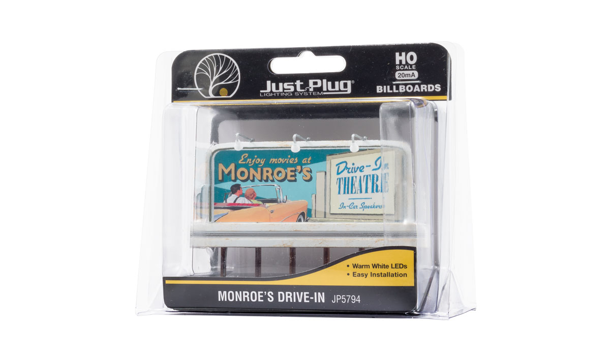Monroe's Drive-In - HO Scale