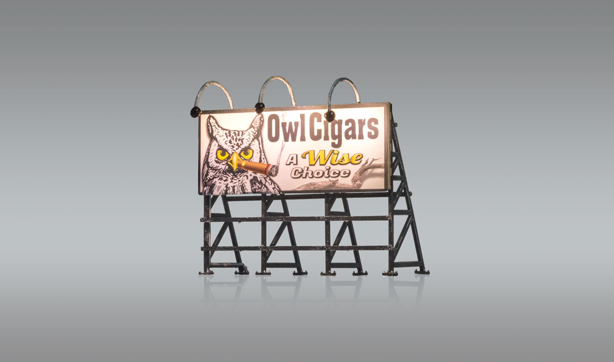 Wise Tobacco Co. - HO Scale