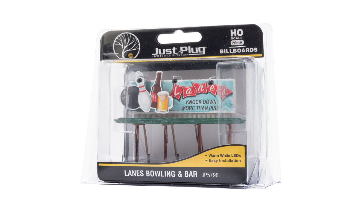 Lanes Bowling & Bar - HO Scale
