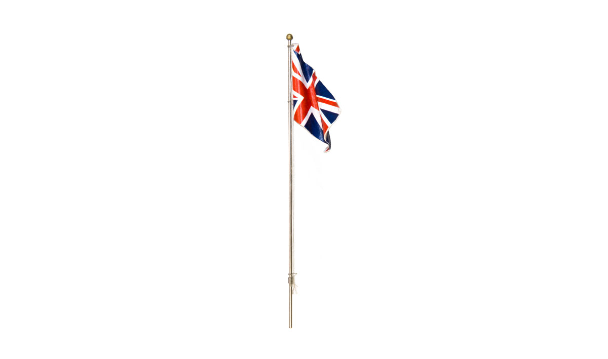 Medium Union Jack Flag Pole