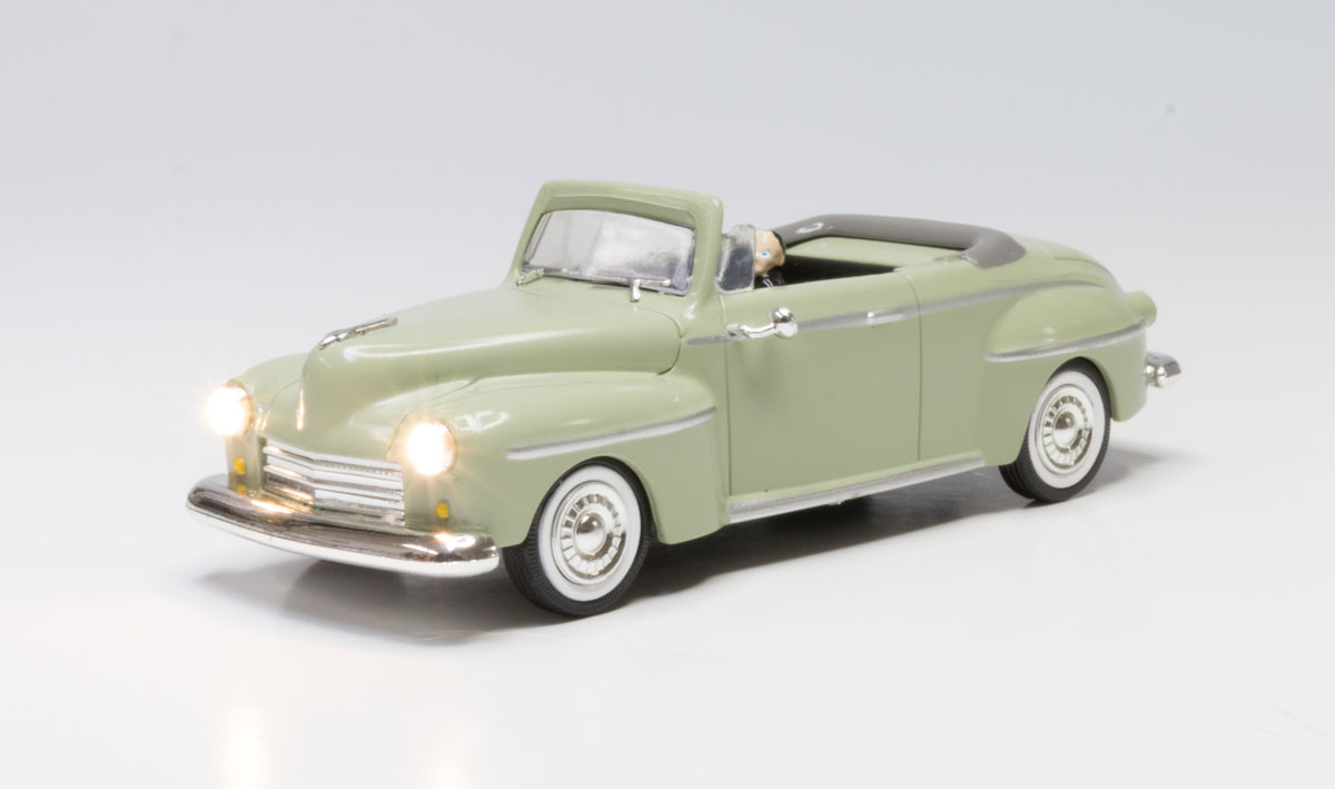 Cool Convertible - O Scale