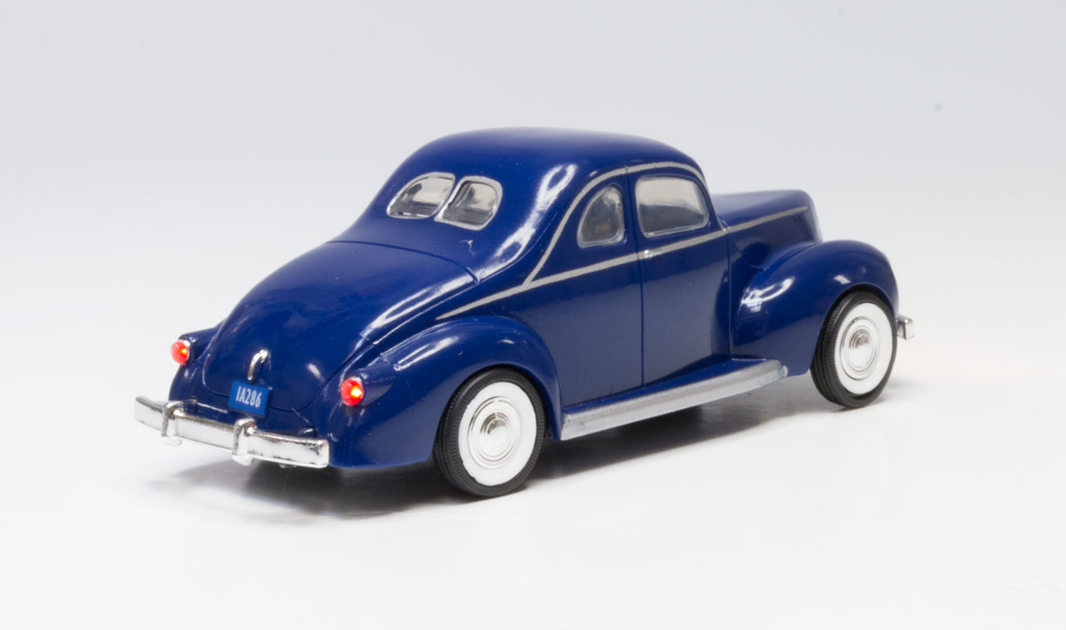 Blue Coupe - O Scale