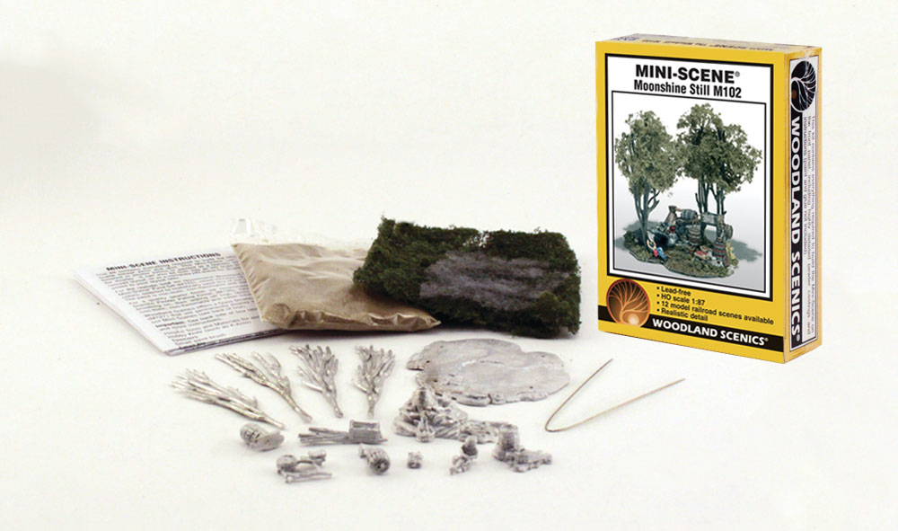 Moonshine Still HO Scale Kit - Mini-Scene® - Woodland ...