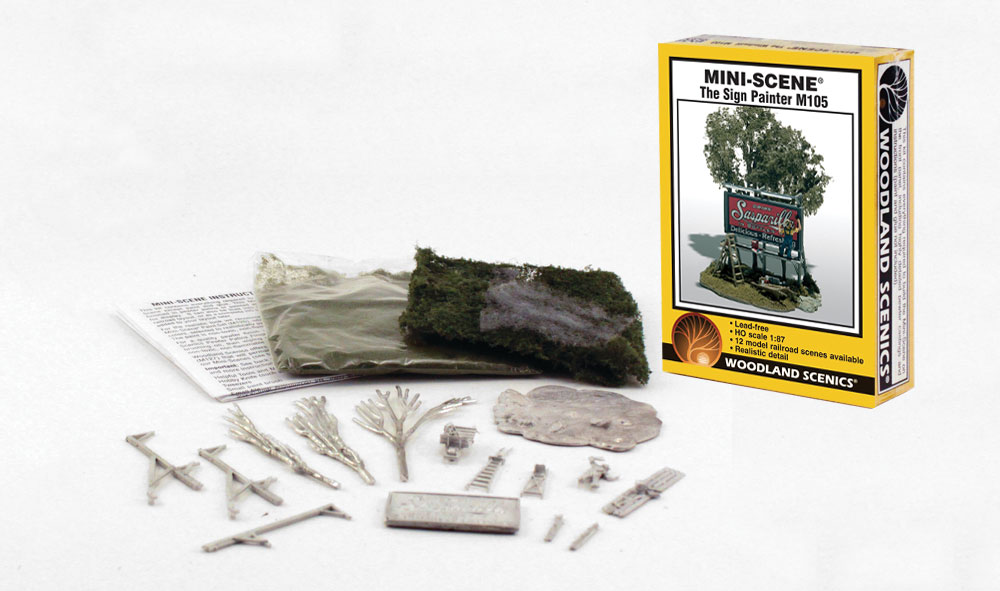 The Sign Painter HO Scale Kit