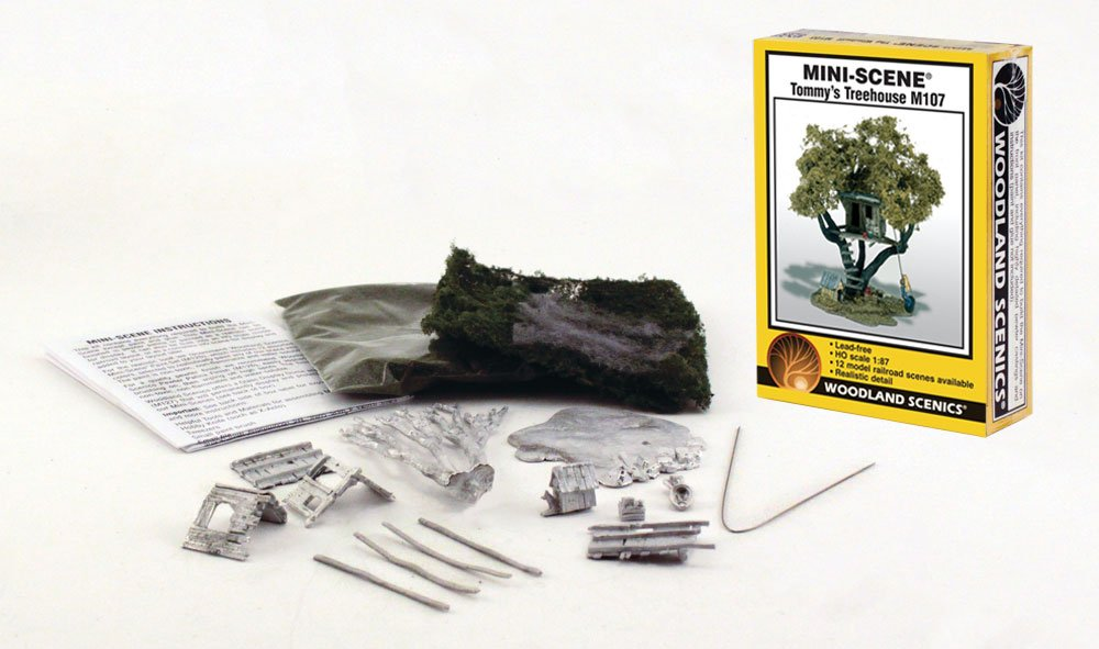Tommy's Treehouse HO Scale Kit