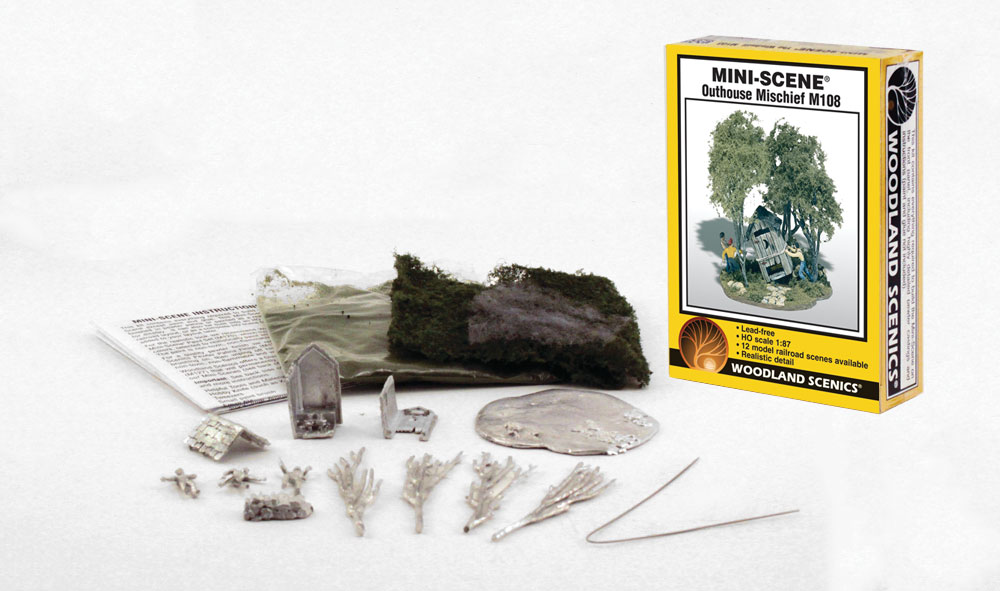 Outhouse Mischief HO Scale Kit