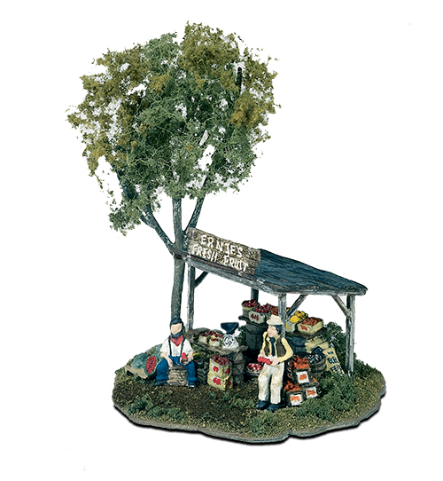 Ernie's Fruit Stand HO Scale Kit