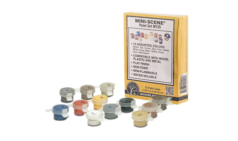 Mini-Scene® Paint Set