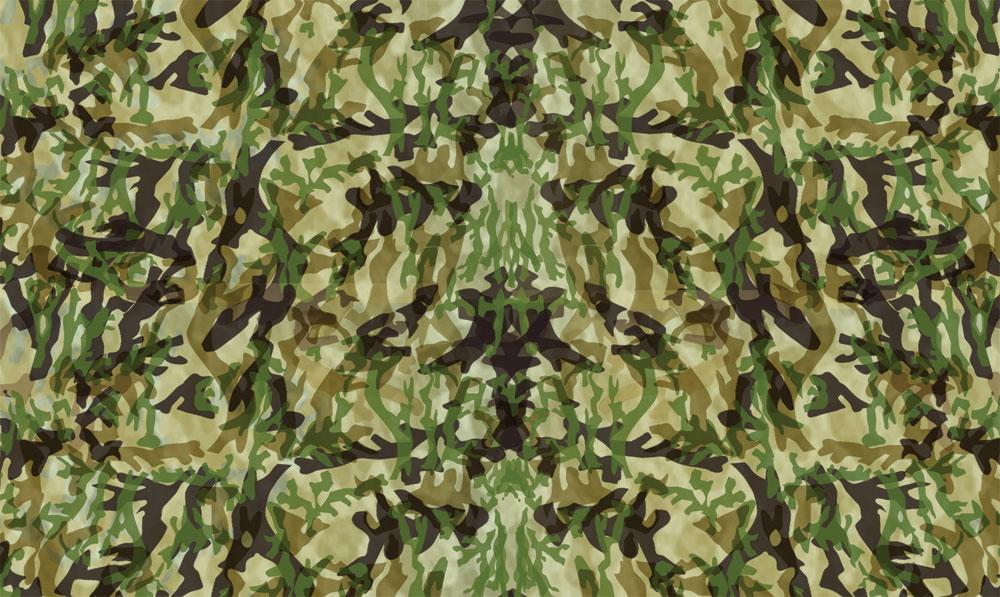 Body Skin Camouflage Woodland Scenics