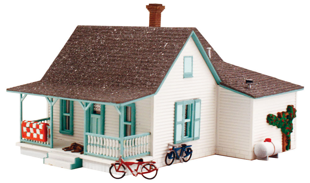 Country Cottage Ho Scale Kit Ho Scale Woodland