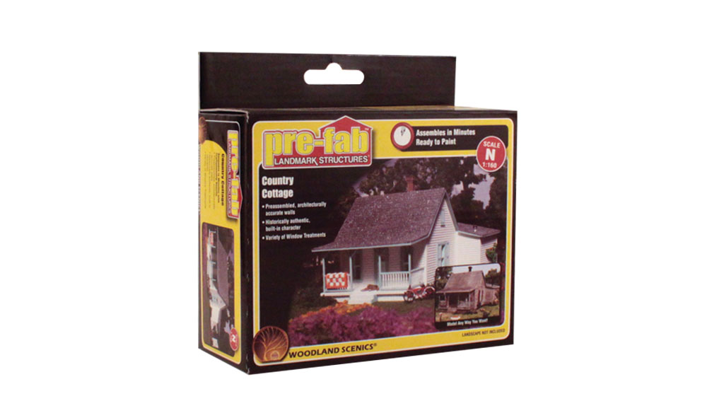 Country Cottage - N Scale Kit