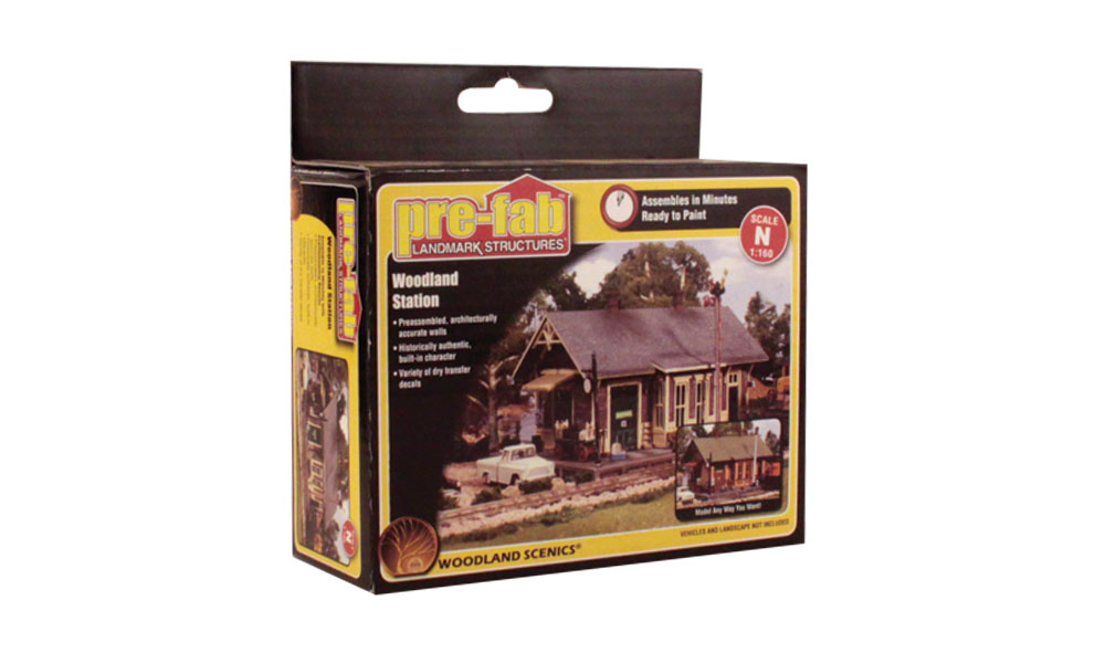 Woodland Station - N Scale Kit