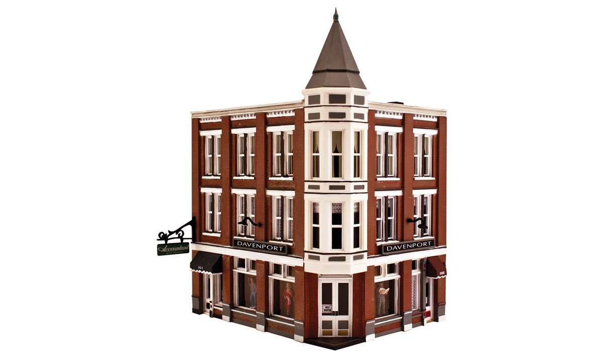 Davenport Department Store - N Scale Kit