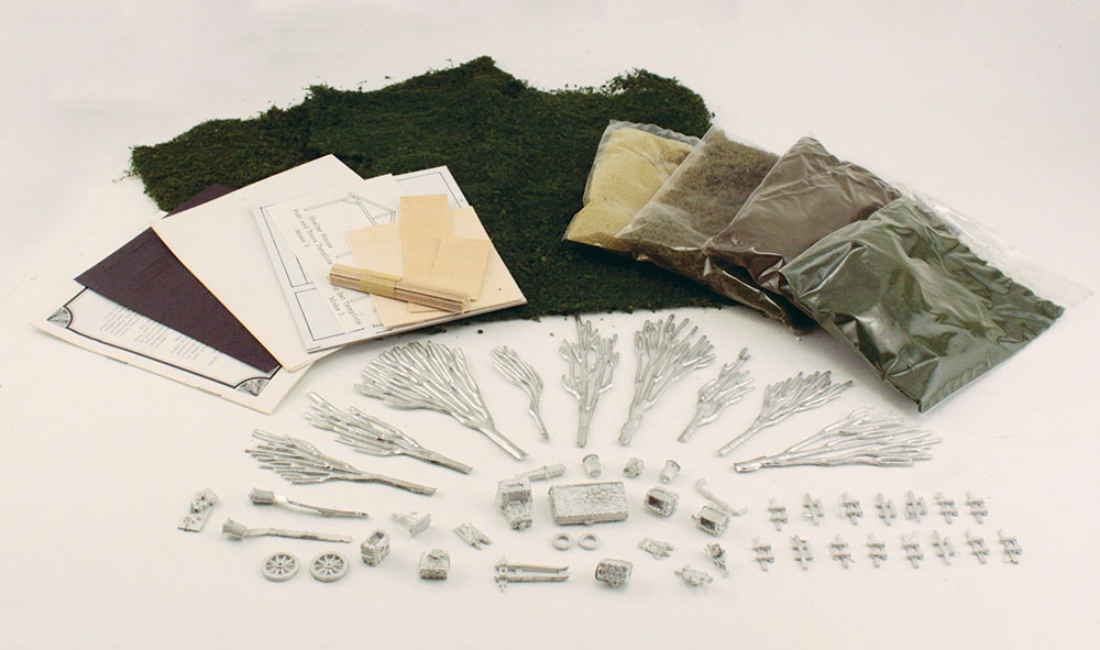 Memorial Park HO Scale Kit