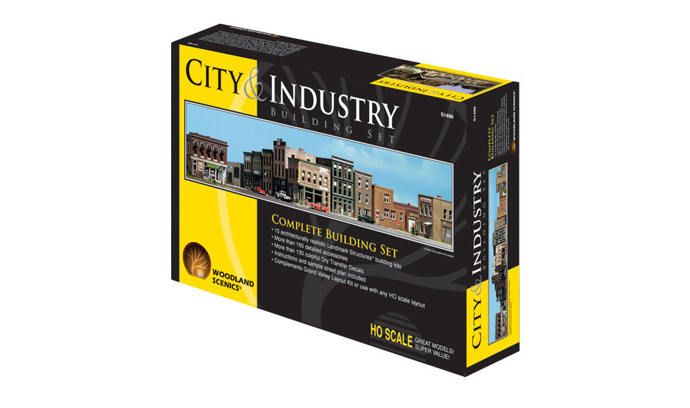 City & Industry Building Set™ - HO Scale Kits