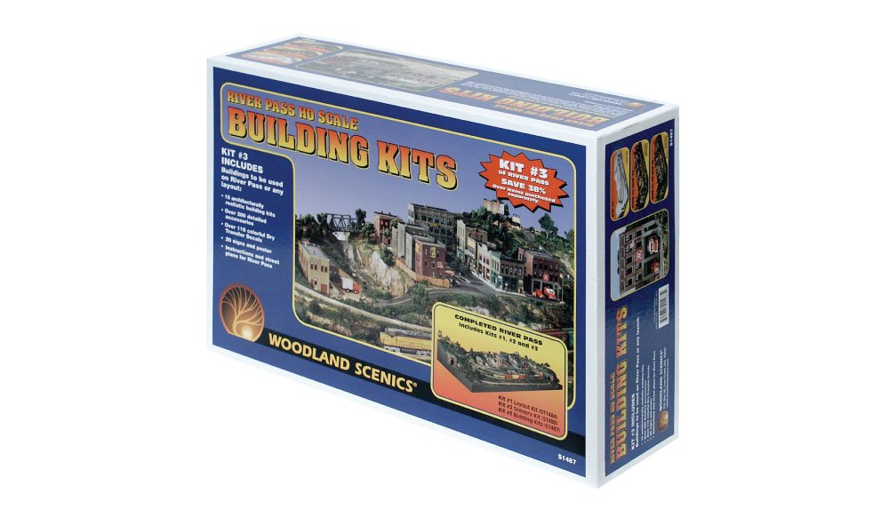 River Pass<sup>™</sup> Building Kits - HO Scale