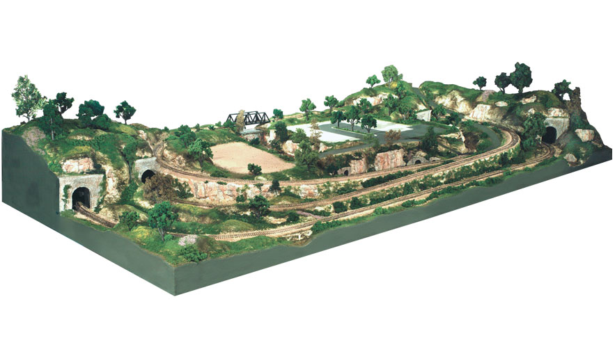 Ho scale scenery grass 07
