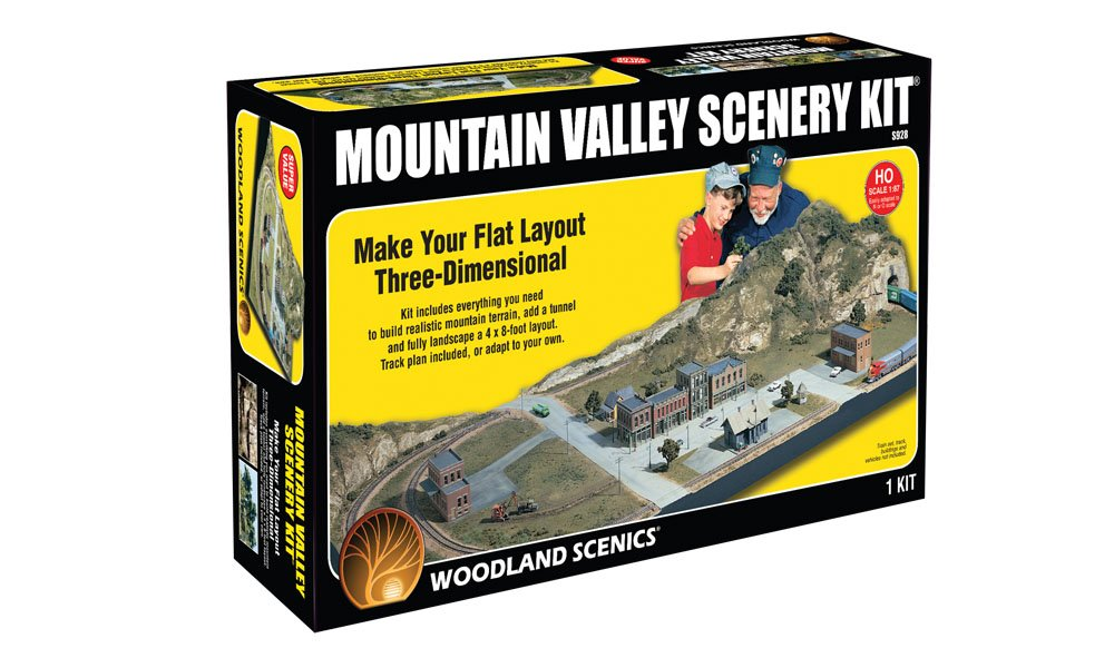 Mountain Valley Scenery Kit<sup><font size='-1'>®</font></sup>