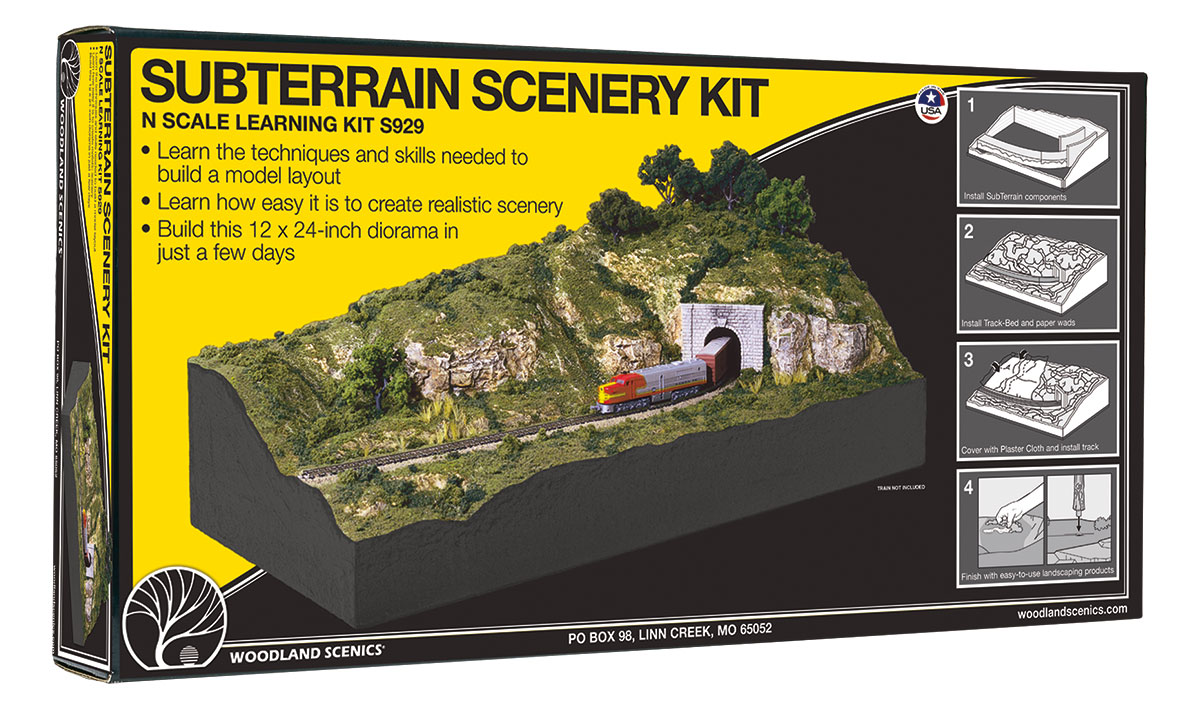 SubTerrain Scenery Kit<sup>&trade;</sup>