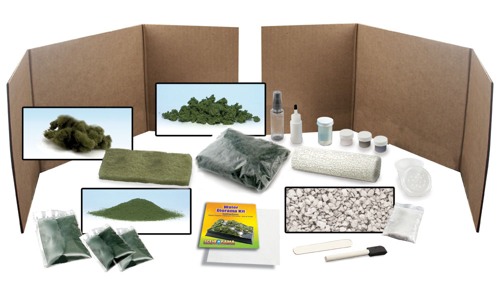 Woodland Scenics SP4122 Scene-A-Rama™ Ripplin Water Kit Multicolor